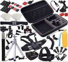 Kamera Zubehör Set Lenkerhalter Saugnapf Adjustable f. Go pro HD Hero 3 4 3+ 2 5