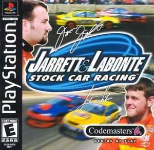 Jarret And Labonte Stock Car Racing - PS1 PS2