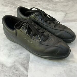 Easy Spirit Womens Shoes Size 10 Anti Gravity Black Lace Up Comfort Narrow 2A
