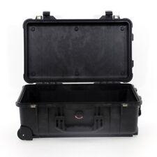 Peli CASE 1510 Trolley Noir sans mousse vide protection valise mallette NEUF