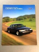1998 Ford LTD Crown Victoria 16-page Original Car Sales Brochure Catalog
