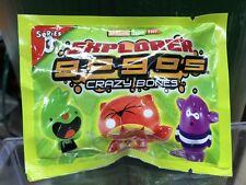 Crazy Bones Gogo's Series 3 Explorer Foil Blind Bag.(3 Characters In Each Pack)