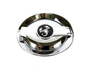 12-17 FIAT 500 ABARTH GAS FUEL FILLER DOOR W/ SCORPION CHROME LOGO OEM MOPAR NEW