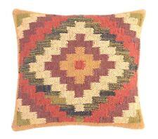 Lot of 10 Pcs Set Hand Loom Kilim Jute Cushion Cover Decorative Square 10 Set 23
