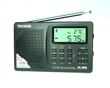 TECSUN PL-606 (Black Color) PLL DSP Radio AM/FM, LW, SW    << ENGLISH VERSION >>