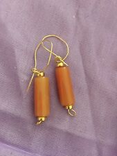 Rose Quartz Earrings gold filled