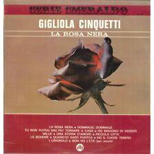 Gigliola Cinquetti Lp Vinile La Rosa Nera / CGD POP 36 Serie Smeraldo Nuovo