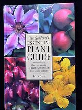 """""""The Gardener's Essential Plant Guide (1997) by Brian Davis with Dust Sleeve"""