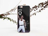 Freddie Mercury iPhone XR Silicone Case Queen iPhone 7 8 Plus 6s SE Gel Cover