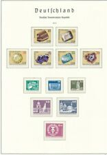 D209029 East Germany Year 1974 Nice selection of MNH stamps