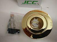 LOT OF 5 JCC JC3012 50W MR16 50W LV Wallwash downlight IN BRASS New and Boxed