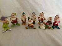 Disney Snow White Nine Dwarfs Set Figurines