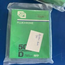 Fujichrome 50D RFP 10 Sheet 4x5 Sealed Frozen Box Outdated Film 6-88
