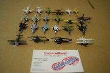 Vintage Galoob Micro Machines Lot 22 Mini Airplanes Helicopters Stearman Kaydet