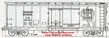 LMH Funaro F&C 5132 5134 CANADIAN NATIONAL 1950's CN Reefer Refrigerator 8-Hatch