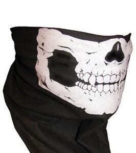 1 piece Skull Jaw Bone Bandana Face Mask Paintball Biker Scarf Head Wrap :)