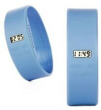 TooLate Uhr - Sportuhr von Too Late - hell-blau light blue - large L - Watch