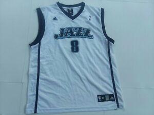 Deron williams Adidas Utah Jazz mens Home Jersey Size Xl #8