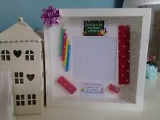 PERSONALISED GIRL's FIRST 1ST DAY AT HIGH SCHOOL Secondary Grammar FRAME CRAYONS