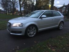 Audi A3 1.4 TFSI S Line 2009 Silver 6 Speed Manual 12 Months MOT! No Reserve!