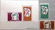 CAR CENTRAL AFRICAN REP 1972 265-66 Block 6 C93-C94a Olympics München Boxing MNH