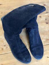 ORIGINAL HILFIGER Stiefel Schaft Wildleder blau 9 / 40
