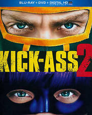 KICK-ASS 2 NEW BLU-RAY/DVD