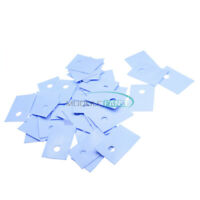 100PCS GPU CPU TO-220 Insulation Pads Silicone Heatsink Shim for Laptop