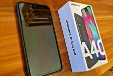 Samsung Galaxy A40 - 64GB - Schwarz (Ohne Simlock) (Dual-SIM) 7 Mon. Garantie!!