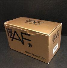 Nikon AF Nikkor 85mm f/1.8D lens - EMPTY BOX w/ Foam Inserts (NO LENS)