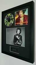 Jimi Hendrix 'Experience' Framed Original CD- Plaque-Certificate-
