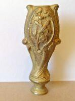 "Solid Brass Lamp Decorated Repair Column 4 1/2"""