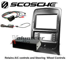 Scosche CR1307B Single and Double Din Install Kit For 2014 - Up Dodge Durango