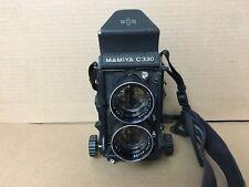 Mamiya C330 Professional Twin Lens Film Camera 135mm Made in Japan