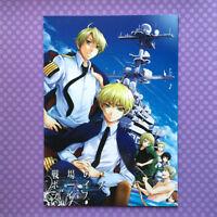 "Used YAOI Doujinshi: Axis Powers Hetalia ""Boys Life Battlefield"" USA x UK JAPAN"