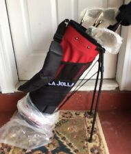 NEW La Jolla Childrens right Hand 7 Club Set with covers and bag brand new