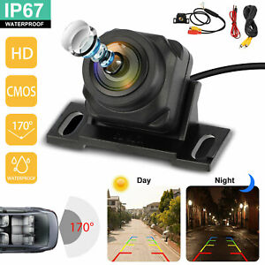 170° CMOS HD Car Front/Side/Rear View Reverse Backup Night Vision Parking Camera
