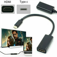 USB C Type C to Female HDMI HDTV Adapter Cable For Samsung S9 S8 Note 9 Macbook