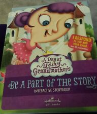 "HALLMARK ""A DAY AT FAIRY GRANDMOTHER'S"" Interactive Storybook NEW Free Shipping!"
