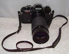 Ricoh KR-5 Super 35mm Camera with Kiron 80-200 f/4:5 Macro 1:4 Lens