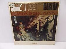 1964 Charles Rosen Liszt Don Juan Fantasy / Bartok Improvisation/Etudes Vinyl LP