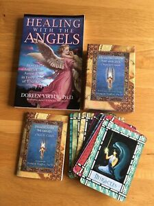 Healing with the Angels Oracle Cards And Book Doreen Virtue Hay