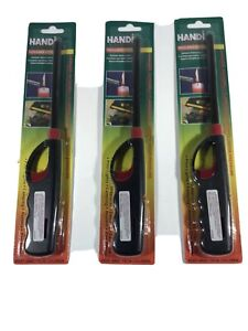 PROF REFILLABLE TURBO UTILITY LIGHTER KITCHEN STOVE BARBECUE FIRES  5 COLOURS