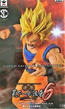 BANPRESTO DRAGONBALL COLOSSEUM 6, SCULTURES SUPER SAIYAN 2 SON GOKOU FIGURE