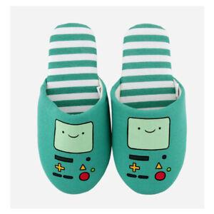 Cartoon Adventure Time BMO Beemo Indoor Slippers Home Soft Sheos Unisex Girls