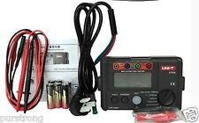 UNI-T UT526 Electrical Insulation Tester Earth Resistance Meter+RCD+Continuity