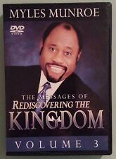 myles munroe  THE MESSAGES OF REDISCOVERING THE KINGDOM volume 3    DVD