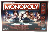 Monopoly - Stranger Things Edition Board Game 80's Themed C4550 NEW SEALED