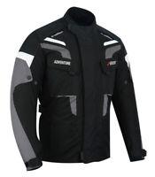Motorradjacke Textil Protektoren Jacke Herren Motorrad Jacke Roller Biker Jacke