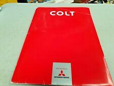 2011  MITSUBISHI COLT Japanese Sales Brochure SET in Folder